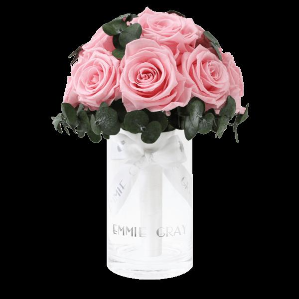 Romantic Eucalyptus Infinity Bouquet | Bridal Pink | S