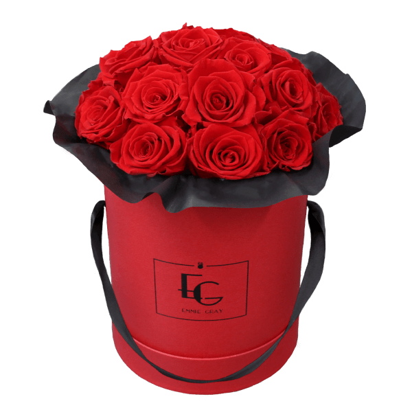 Splendid Infinity Rosebox | Vibrant Red | M