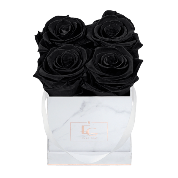 Classic Infinity Rosebox | Black Beauty | XS