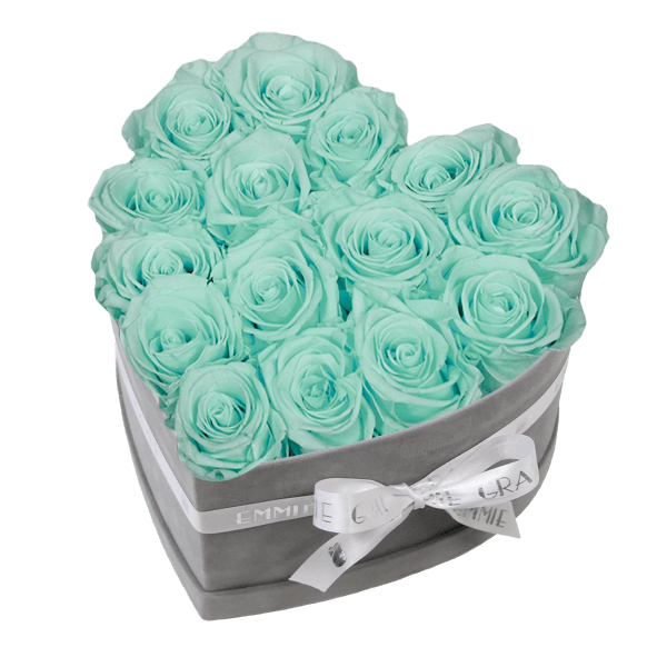Classic Infinity Rosebox | Minty Green | M