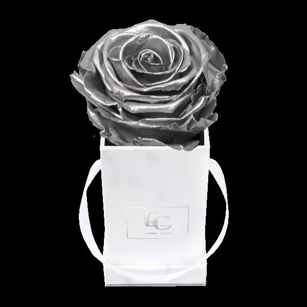 Classic Infinity Rosebox | Silver | XXS