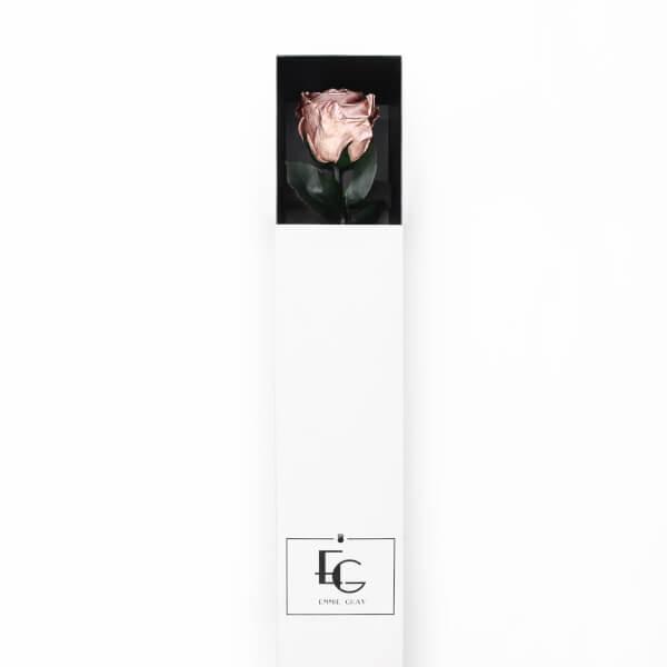Long Stem Infinity Rose | Rose Gold | 1 Rose