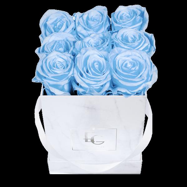 Classic Infinity Rosebox | Baby Blue | S