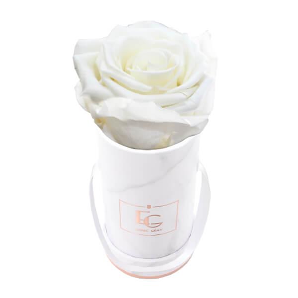 Classic Infinity Rosebox | Pure White | XXS