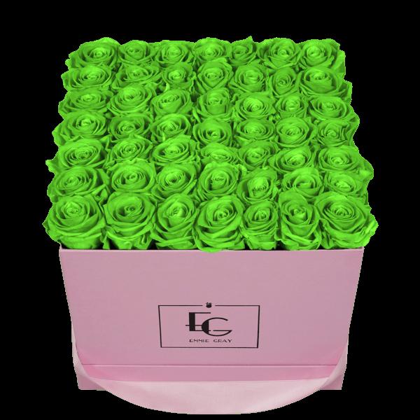 CLASSIC INFINITY ROSEBOX | GREEN GLOW | L