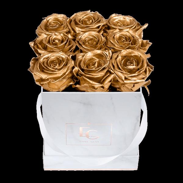 Classic Infinity Rosebox | Gold | S