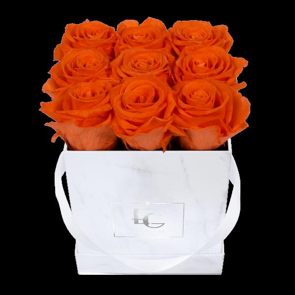Classic Infinity Rosebox | Orange Flame | S