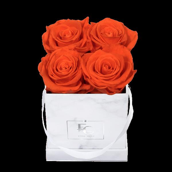 Classic Infinity Rosebox | Orange Flame | XS