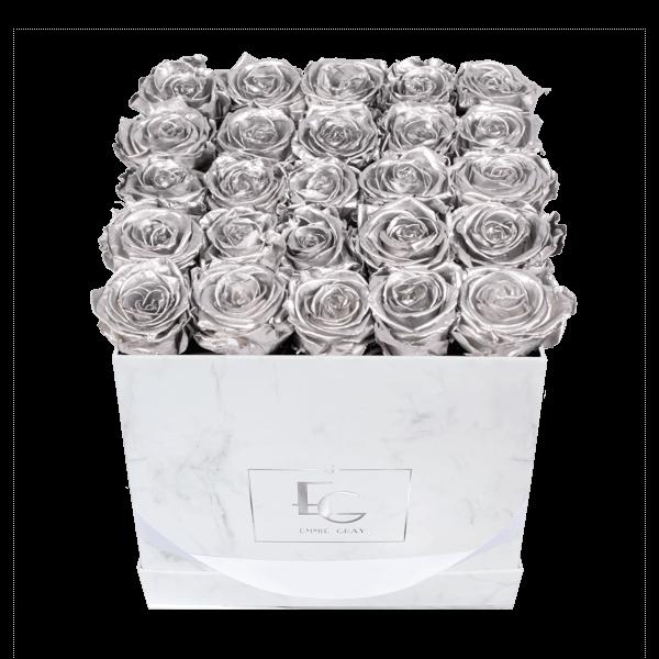 Classic Infinity Rosebox | Silver | M