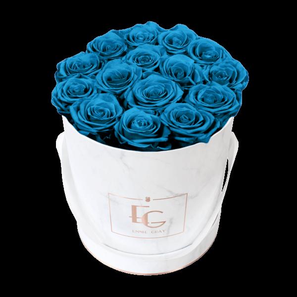 Classic Infinity Rosebox   Aquamarine   M