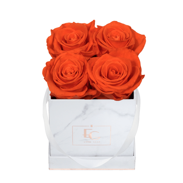 Classic Infinity Rosebox   Orange Flame   XS