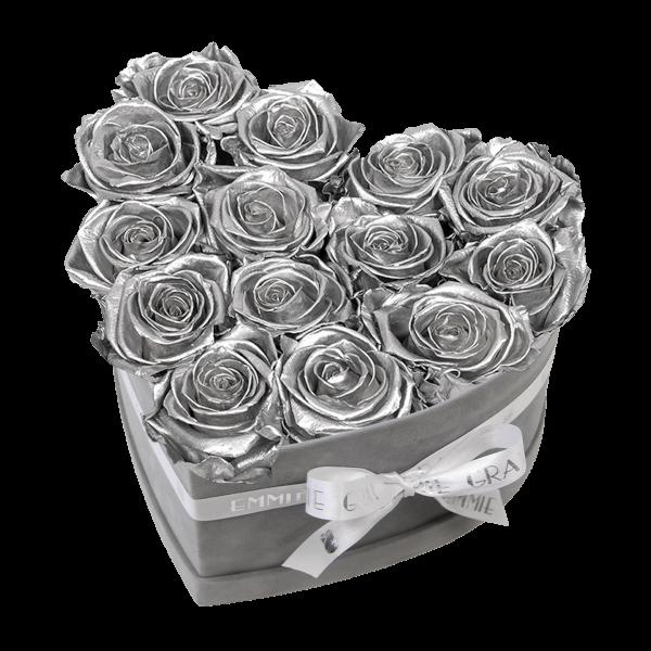 Classic Infinity Rosebox   Silver   M