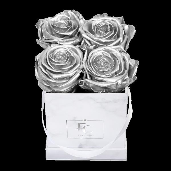 Classic Infinity Rosebox | Silver | XS
