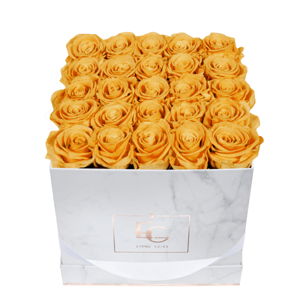 Classic Infinity Rosebox | Sunny Yellow | M