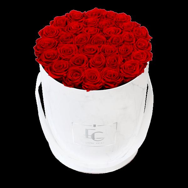 CLASSIC INFINITY ROSEBOX | VIBRANT RED | L