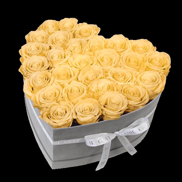 Classic Infinity Rosebox | Champagne | L