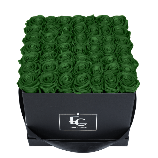 CLASSIC INFINITY ROSEBOX | EMERALD GREEN | L