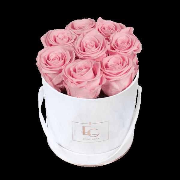 Classic Infinity Rosebox | Bridal Pink | S