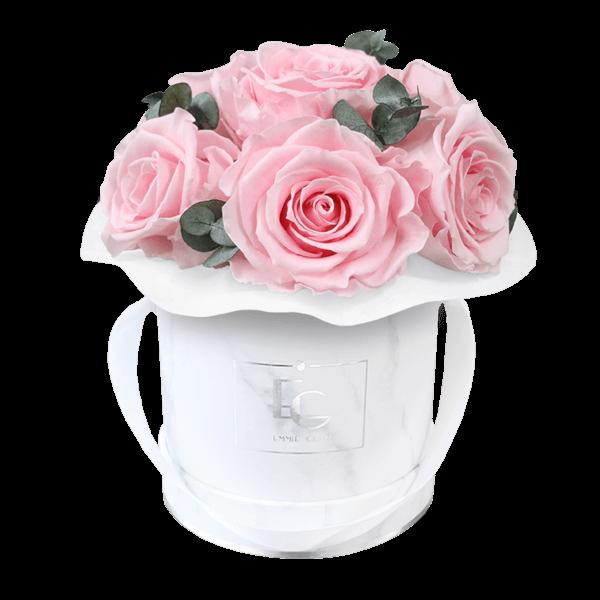 Splendid Eucalyptus Infinity Rosebox | Bridal Pink | XS