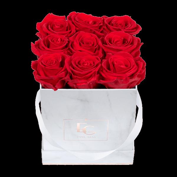 Classic Infinity Rosebox   Vibrant Red   S