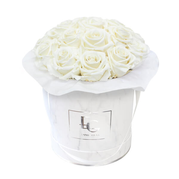 SPLENDID INFINITY ROSEBOX | PURE WHITE | M