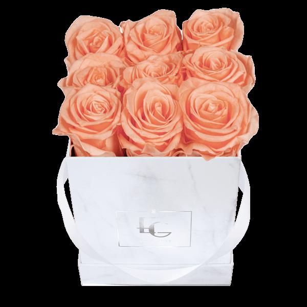 Classic Infinity Rosebox | Perfect Peach | S