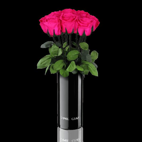 Classic Vase Set | Hot Pink | 10 ROSES