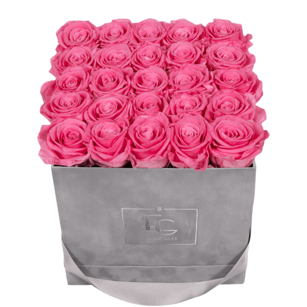 CLASSIC INFINITY ROSEBOX | BABY PINK | M