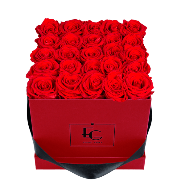 CLASSIC INFINITY ROSEBOX | VIBRANT RED | M