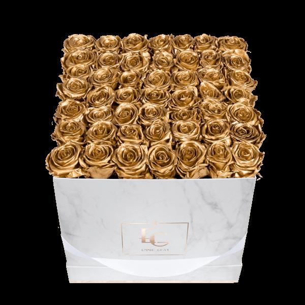 Classic Infinity Rosebox   Gold   L